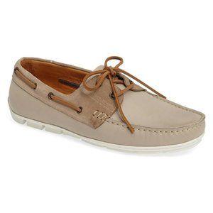 Vince Camuto Don Boat Shoe Mens 13 M Beige $195